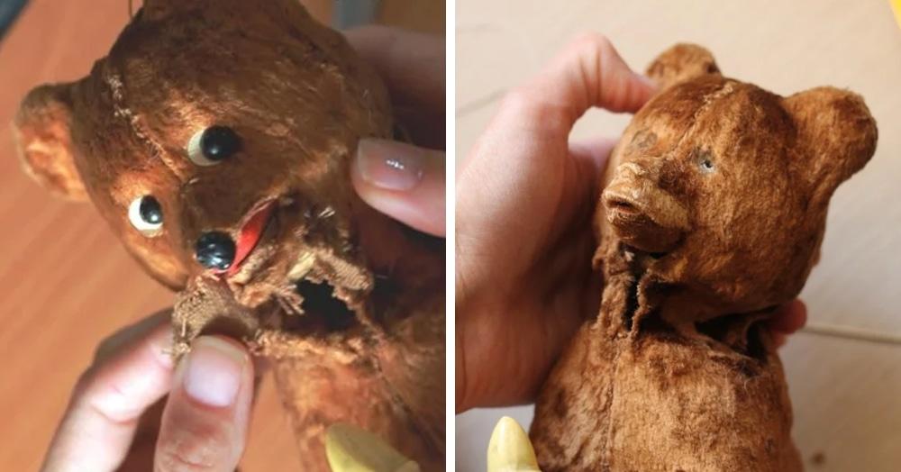 Пикабушница восстановила советского заводного мишку 50-х годов, и результат — просто заглядение