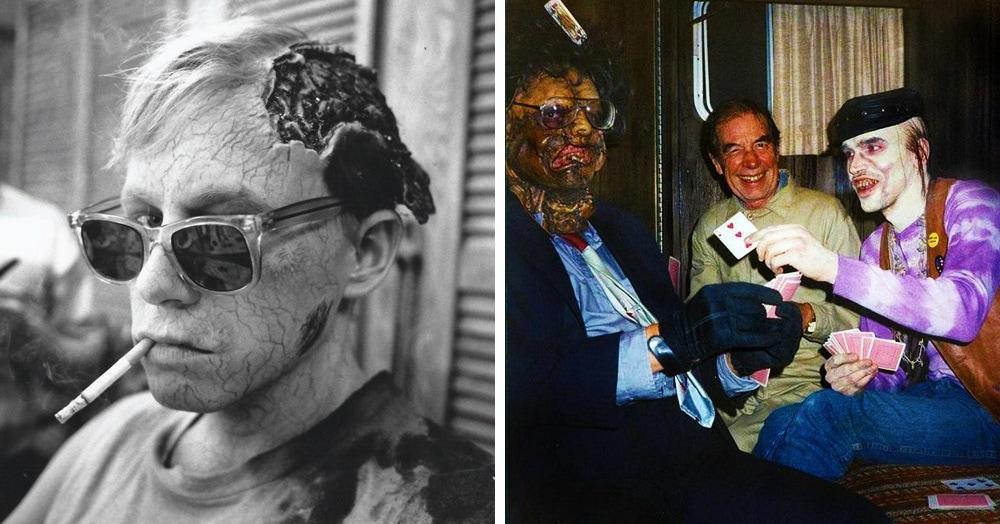 16 фотографий со съёмок фильмов ужасов, которые покажут, как создаются современные страшилки