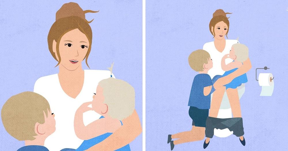20 честных комиксов от австралийской художницы, которые рассказывают о мамской жизни без прикрас