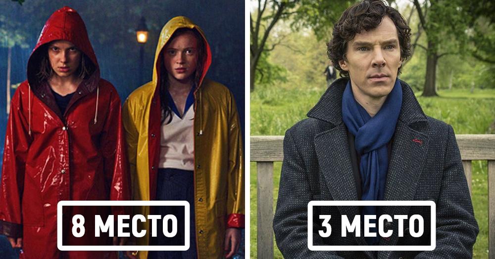 20 лучших зарубежных сериалов десятилетия по версии зрителей портала «КиноПоиск»