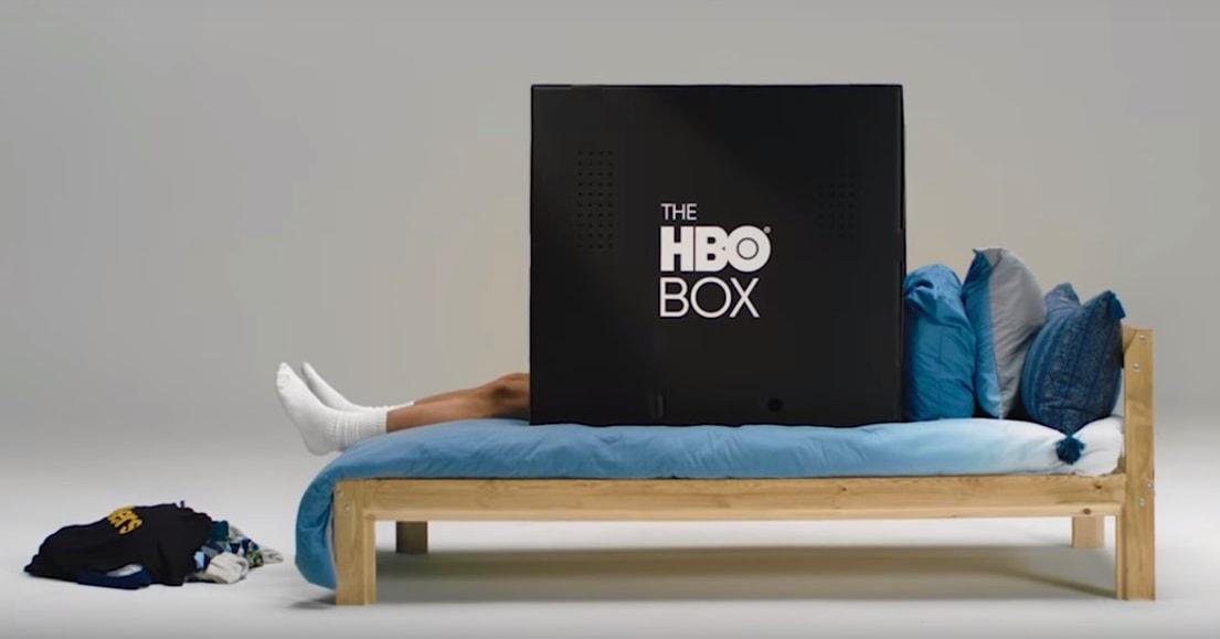 Компания HBO выпустила чёрную коробку, в которую можно залезть и уединиться с любимым сериалом