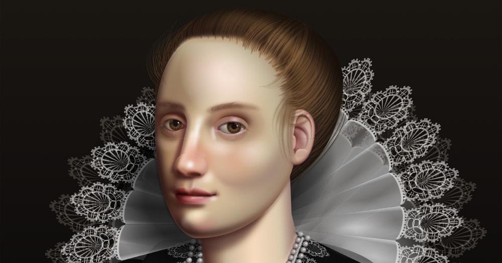 Художница создала портрет, который люди видят по-разному. Дело не в зрении, а в программировании