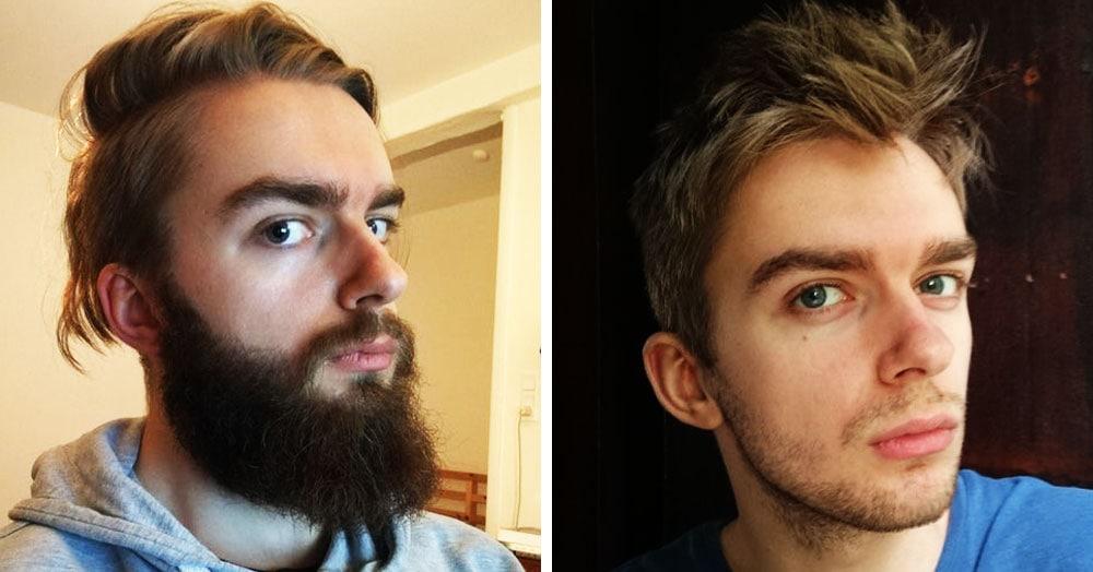 15 доказательств того, что мужчина с бородой и без – это два разных человека