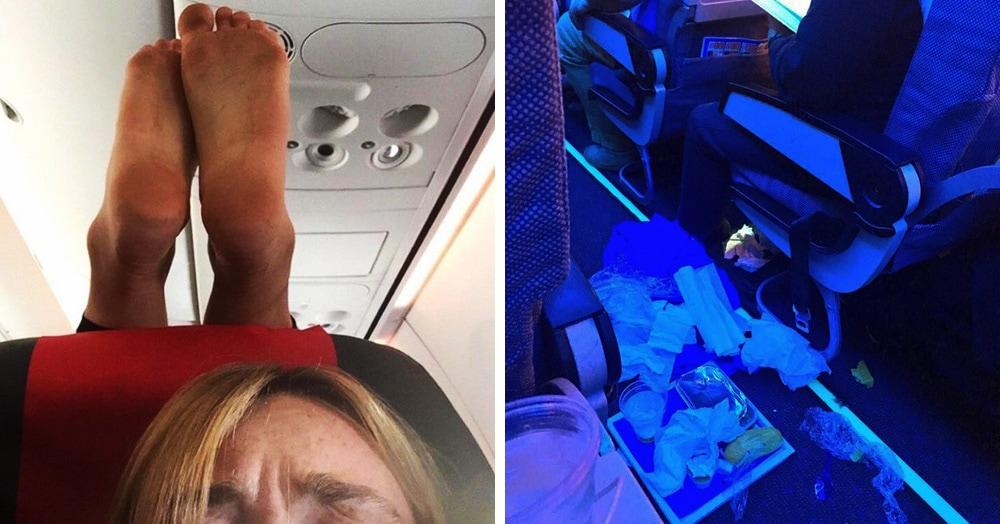 15 фотографий пассажиров, за вредность полёта с которыми должны доплачивать