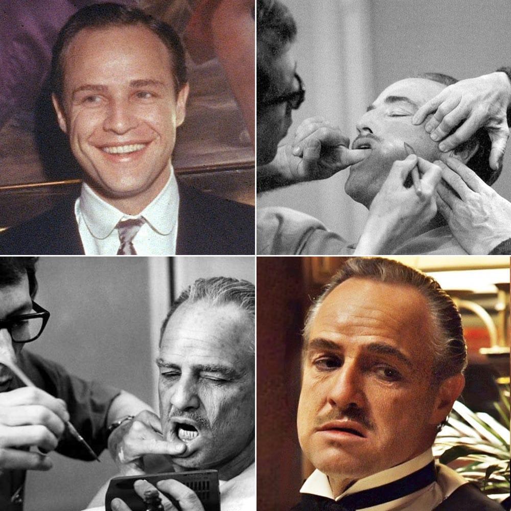 Фотографии, которые во всей красе показывают процесс превращения актёров в их персонажей