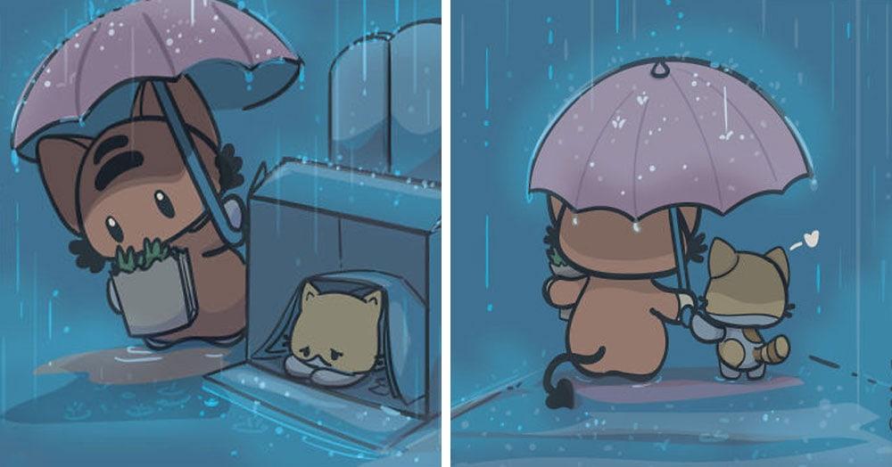 15 душевных комиксов, которые наполнены дружбой, добротой и любовью