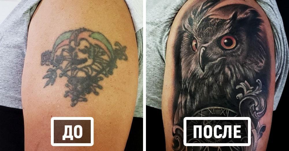 20 старых татуировок, которые получили вторую жизнь и снова радуют своих хозяев