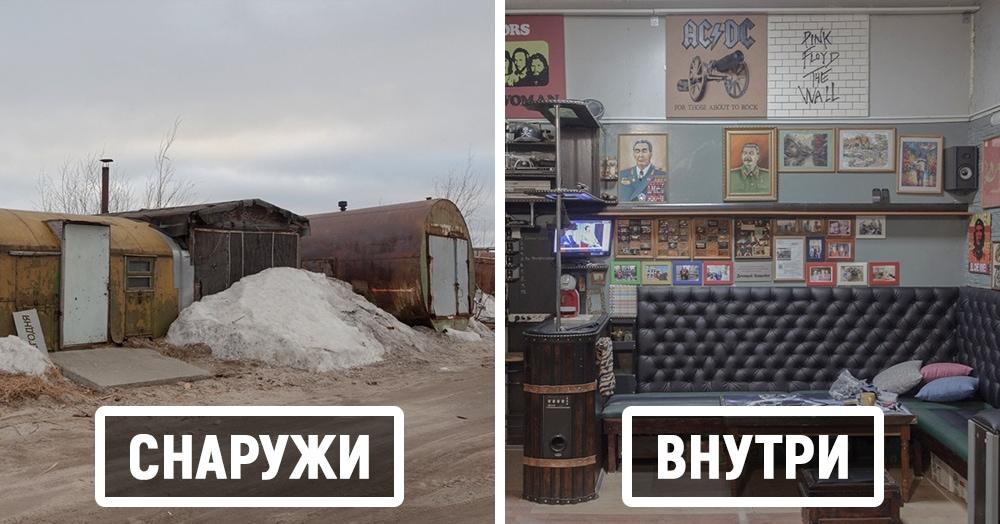 Фотограф показала, как жители Надыма перестраивают свои гаражи, превращая их в помещения мечты