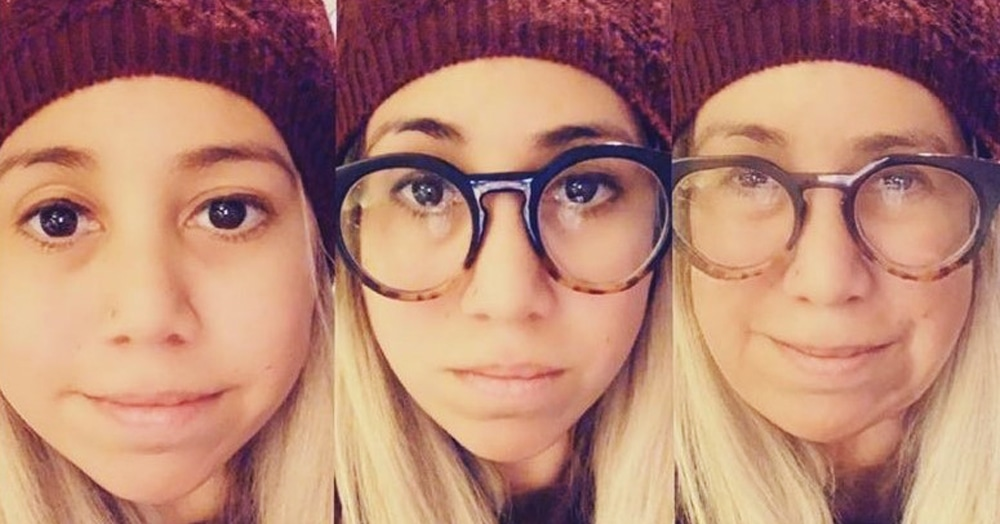 Машина времени: новый фильтр Snapchat превращает из младенца в старика и обратно в режиме видео