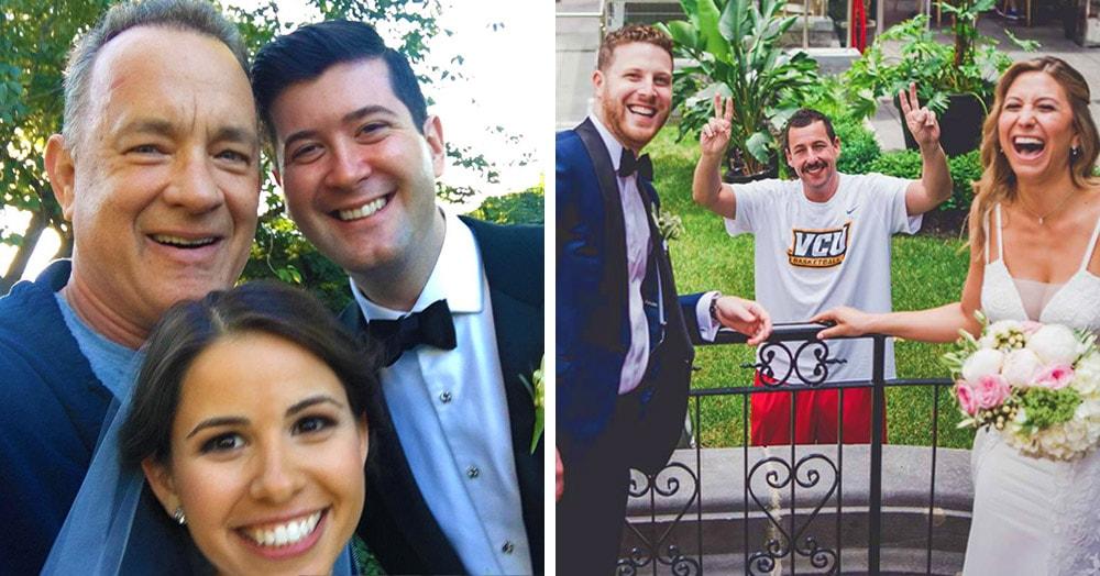 15 случаев, когда знаменитости неожиданно попали на чужую свадьбу и сделали её незабываемой