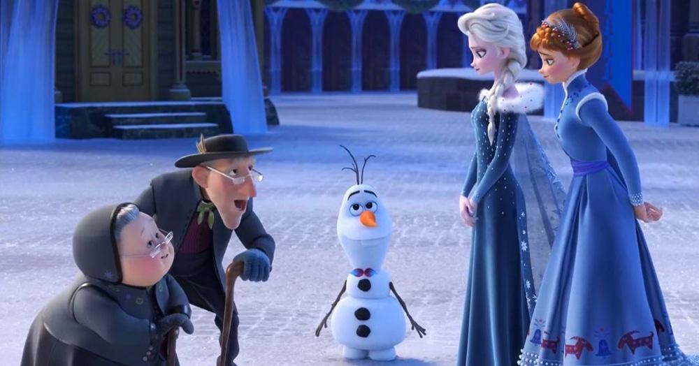 Люди узнали рост снеговика Олафа, и что-то не сошлось. Судя по всему, Эльза и Анна просто великанши
