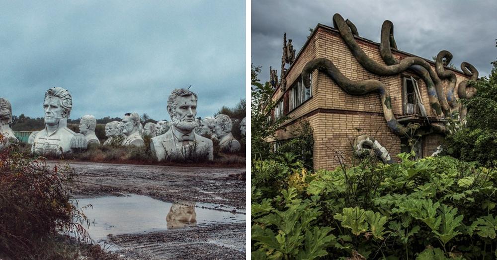 17 фотографий заброшенных мест, на которых время оставило свой отпечаток
