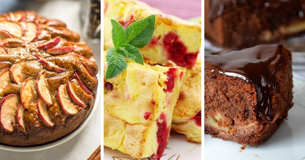 10 лучших рецептов шарлотки с яблоками