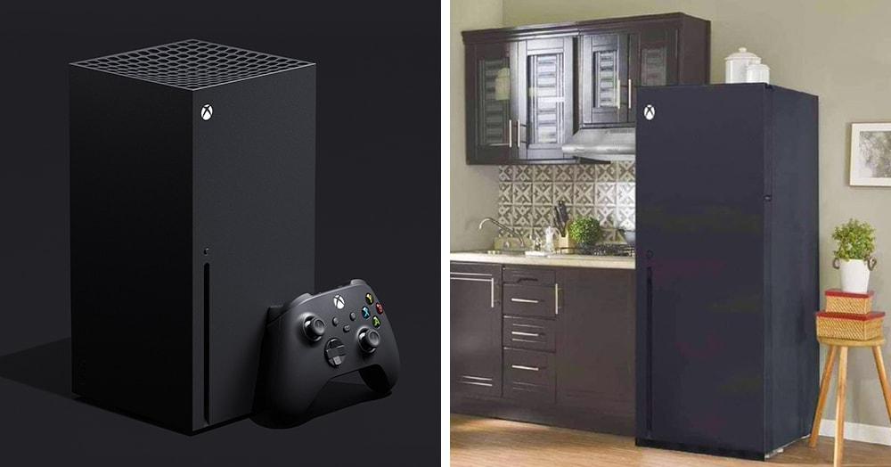 Microsoft презентовал консоль нового поколения Xbox Series X. Но её дизайн тут же стал жертвой шуток
