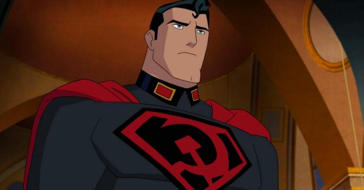 Вышел трейлер мультфильма про советского Супермена. Бэтмен в шапке-ушанке и Сталин прилагаются