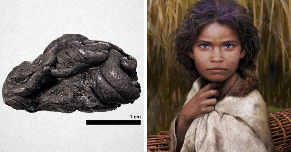 Датские учёные восстановили образ женщины, жившей 5700 лет назад, по куску смолы, который она жевала