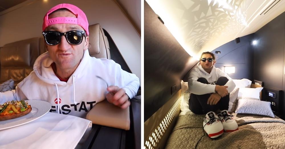 Блогер испытал на себе полёт на месте более чем за 4 млн и показал, что за эту сумму предлагается