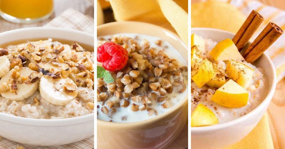 10 лучших рецептов каши на молоке: вкусный и полезный завтрак