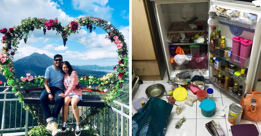 Пара разбирала холодильник и нашла там привет из прошлого века. И он ничуть не изменился!