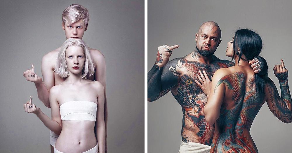 «Одетые в любовь»: фотопроект, показывающий, что брак не разрушает индивидуальность, а усиливает её