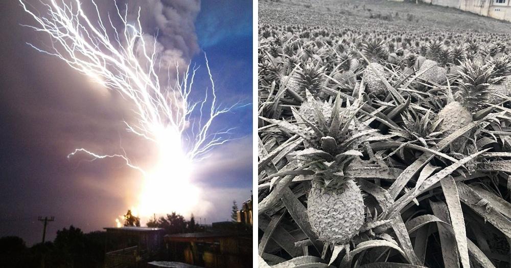 Опасная красота: 20 фотографий извержения вулкана Тааль, которое происходит на Филиппинах