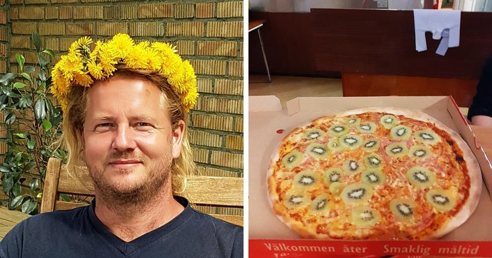 «Это преступление против человечества»: швед создал пиццу, которую ненавидят почти все — он добавил туда киви