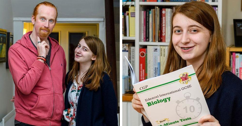 Британец помог своей дочери подготовиться к экзамену по биологии и случайно спас себе жизнь