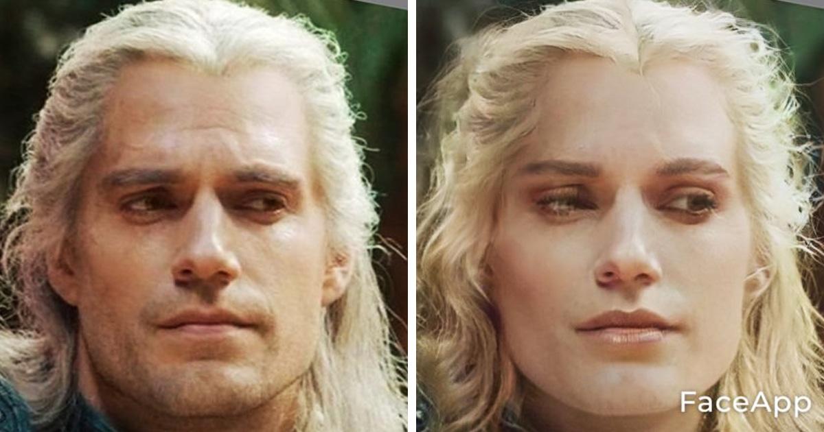 Как выглядели бы Геральт и Лютик из «Ведьмака», если бы поменяли пол? Фанаты посмотрели и им понравилось