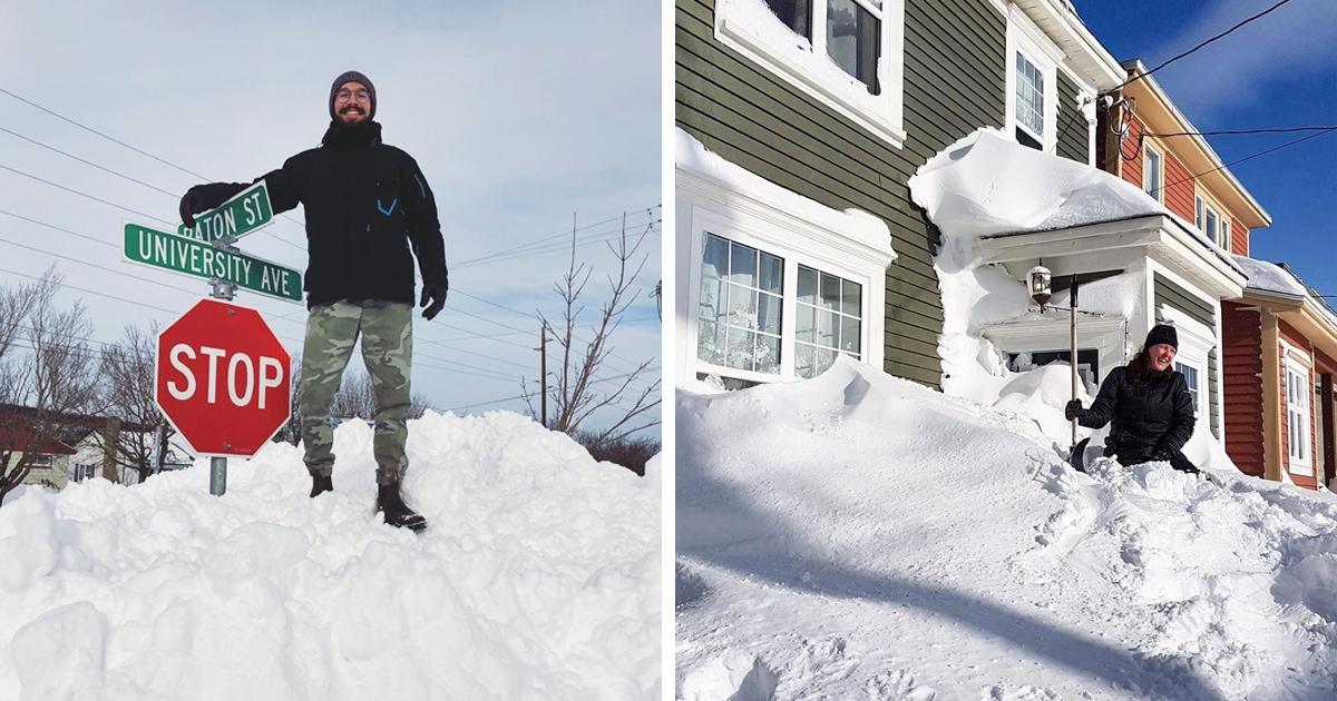 В Канаде выпало рекордное количество снега, и фото оттуда — ответ на вопрос о том, куда делась наша зима