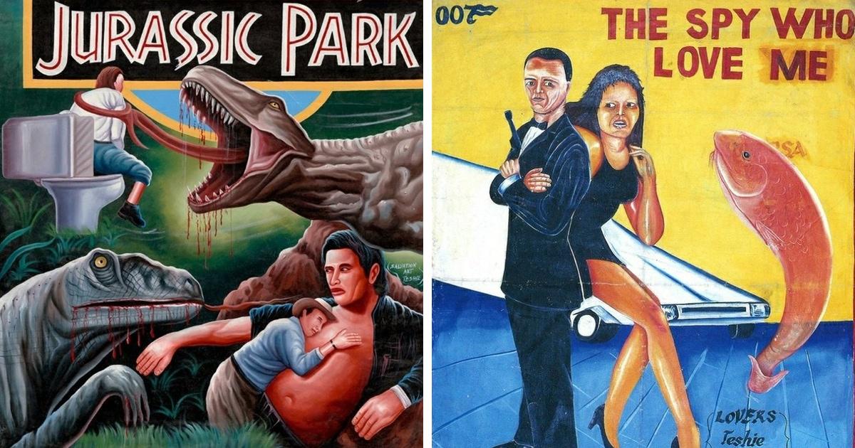 Кинопостеры из Ганы как особый вид искусства: 30 рисованных плакатов на грани добра и зла