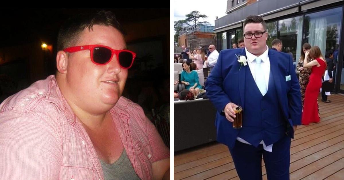 Парень отказался от роли шафера на свадьбе сестры из-за веса. Но ему удалось похудеть — благодаря своей бабуле