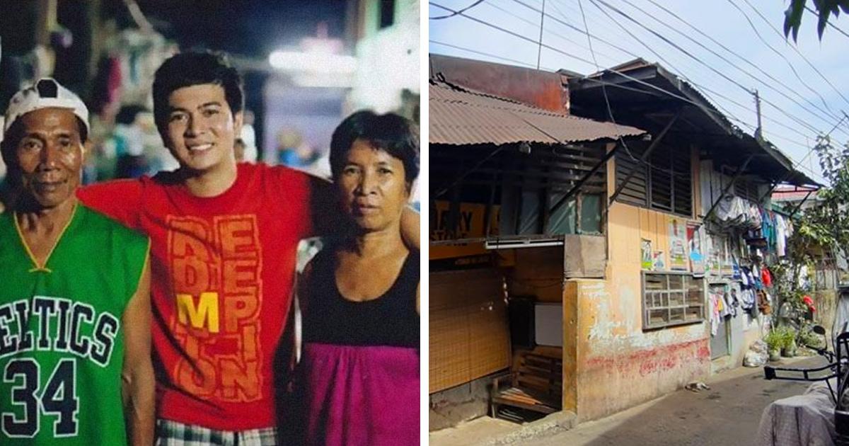 Пара усыновила мальчика, хотя сама жила не богато, и он отплатил им за доброту, построив семье дом мечты