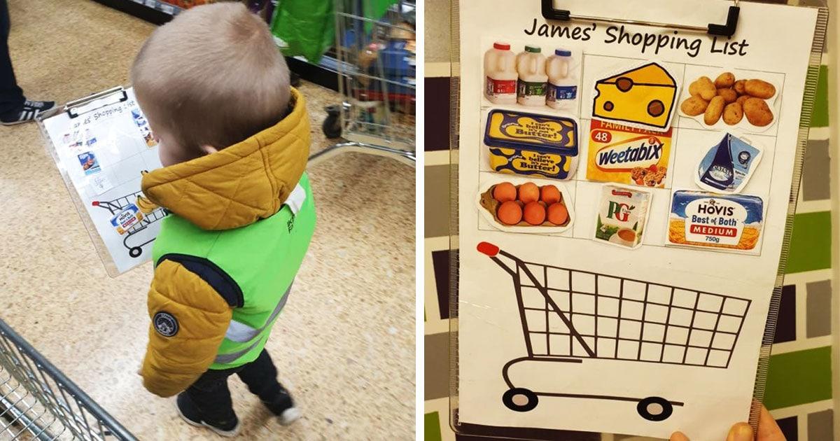 Мама назначила сына «торговым офицером», и теперь походы в магазин с ребёнком — не мучение, а увлекательная игра