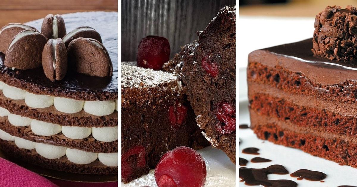 10 рецептов самых вкусных шоколадных тортов