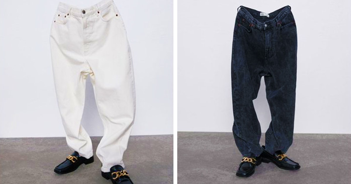 Zara выпустила рекламу джинсов, которые надеты на призраков. В Твиттере не могут перестать шутить