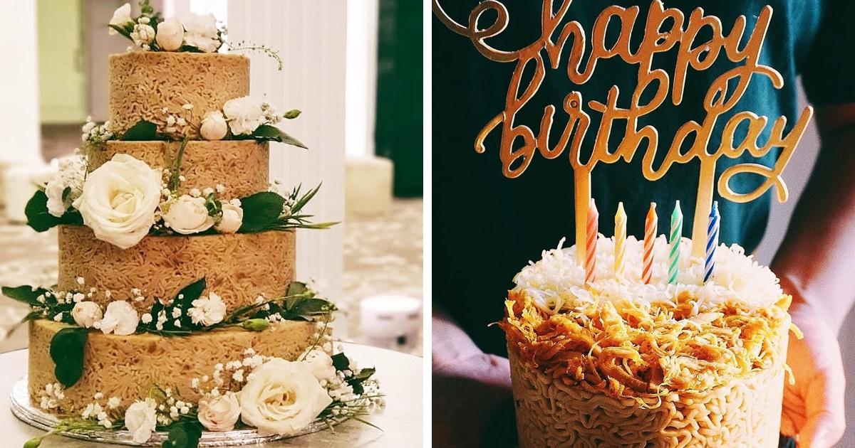 Компания из Джакарты изготовляет необычные свадебные торты. Выглядит круто, но сладкоежки не оценят