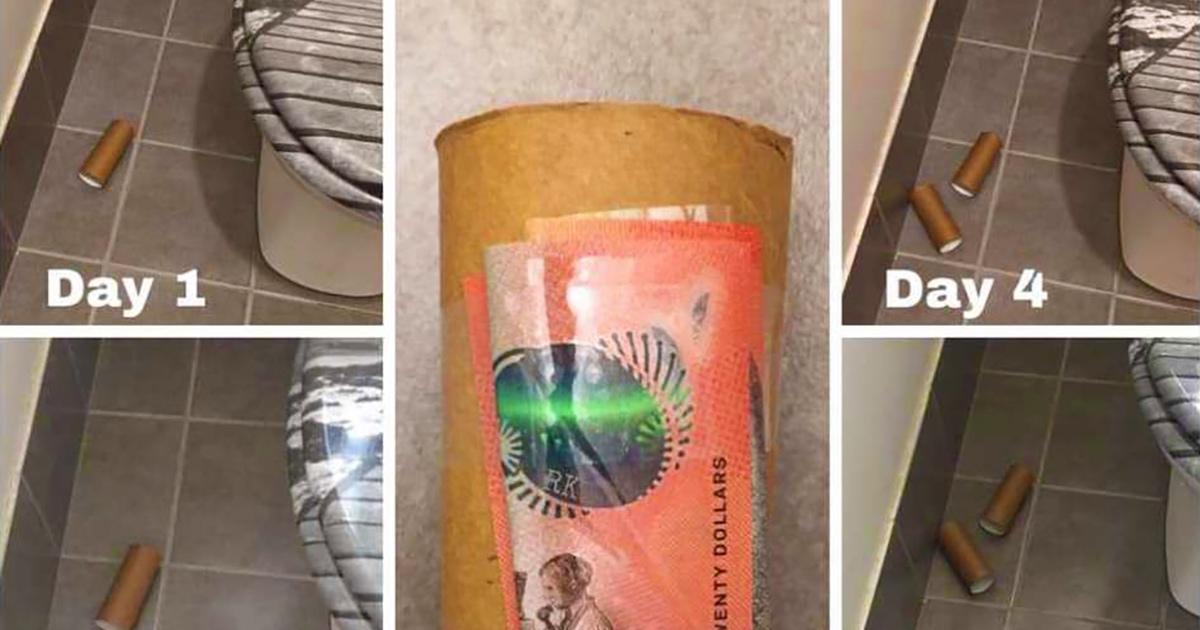 Австралийка проверила, убирается ли в доме кто-то кроме неё, приклеив деньги к мусору. Эксперимент удался