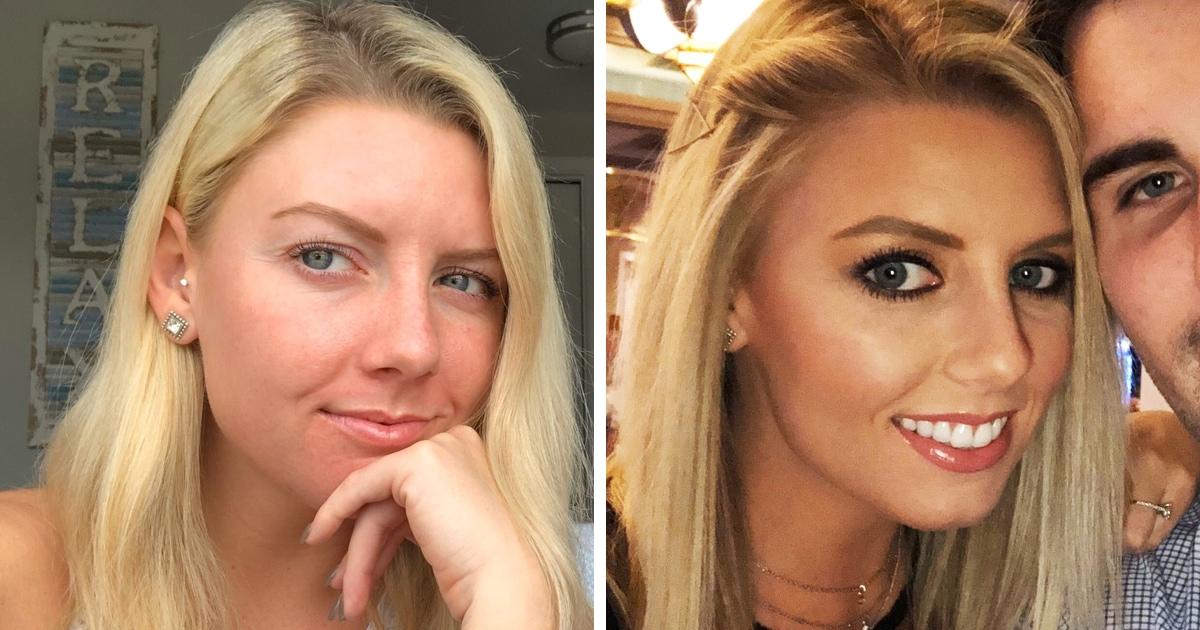Девушки выложили фото с макияжем и без, рассказав, как люди меняют к ним отношение из-за косметики