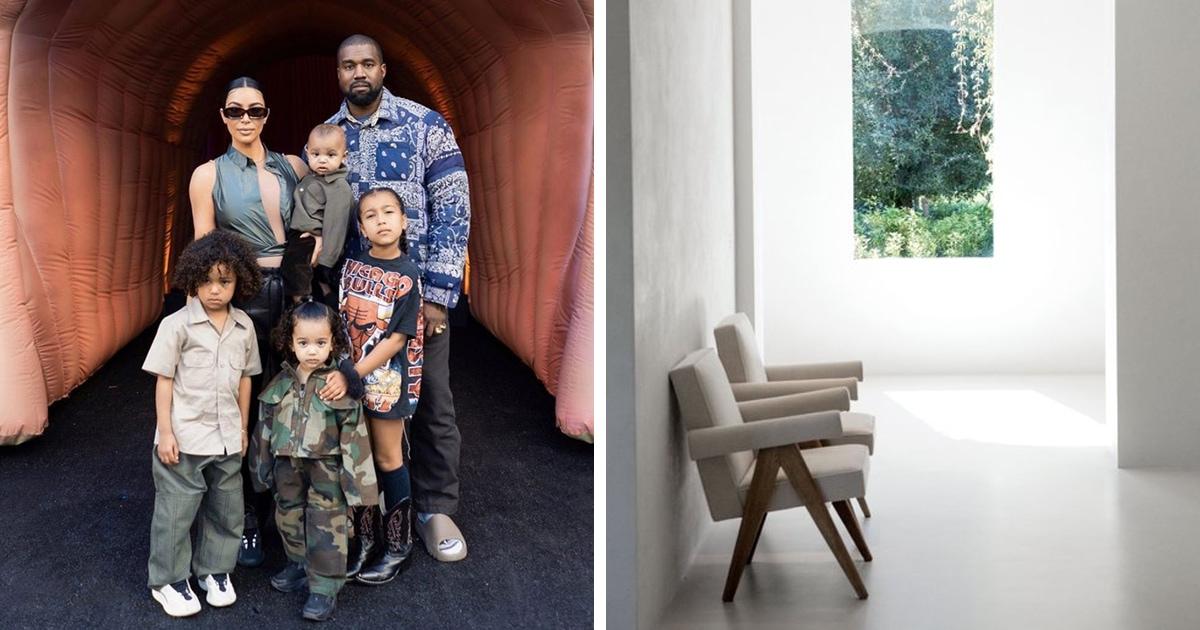 Ким Кардашьян обвинили в том, что её дом слишком пустой и скучный. Тогда она показала, куда ушли все краски