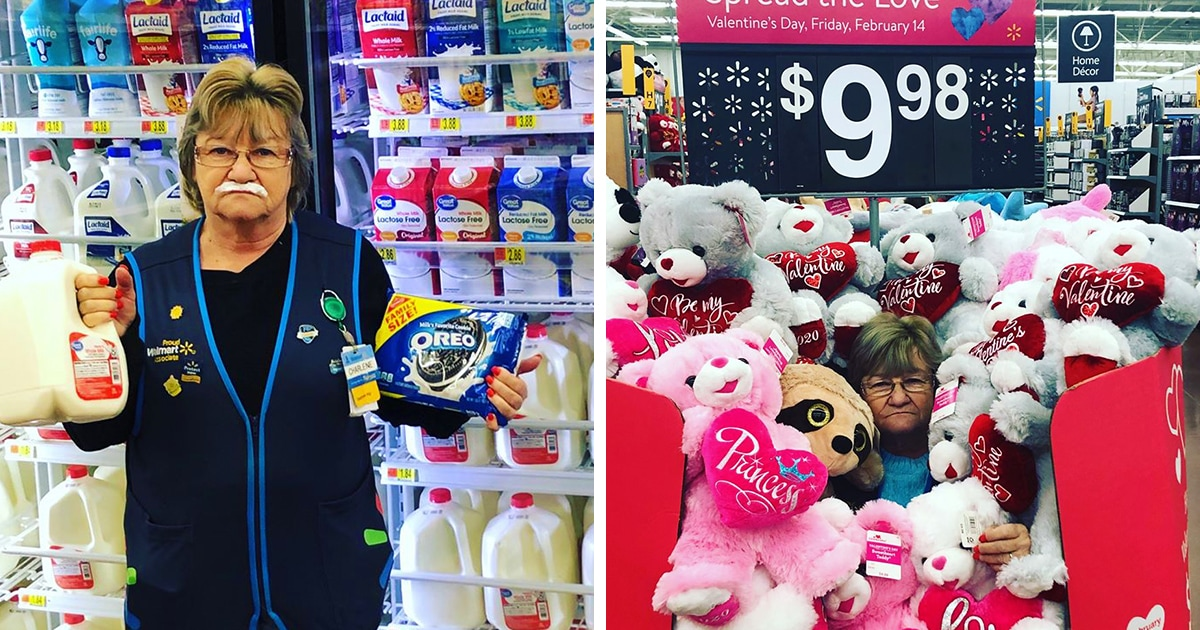 Продавщица супермаркета из Мэриленда делает остроумные фотки с товаром, и они прославили её на весь интернет