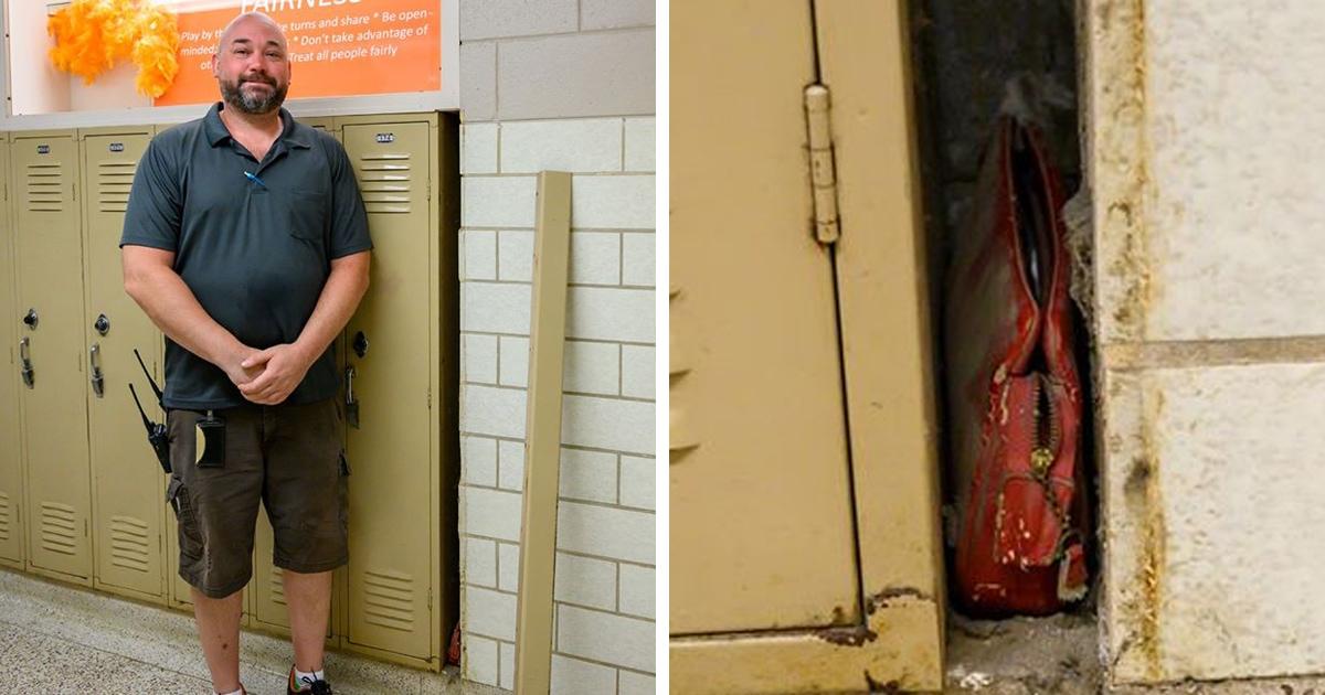 Школьный охранник обнаружил сумку, оставленную в 1957 году. Родственники хозяйки разрешили показать содержимое