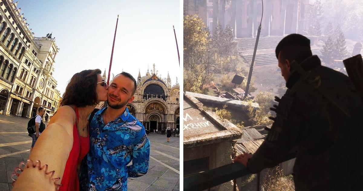 Парень сделал девушке предложение в игре Metro Exodus. Он уговорил разработчиков вставить туда милую пасхалку
