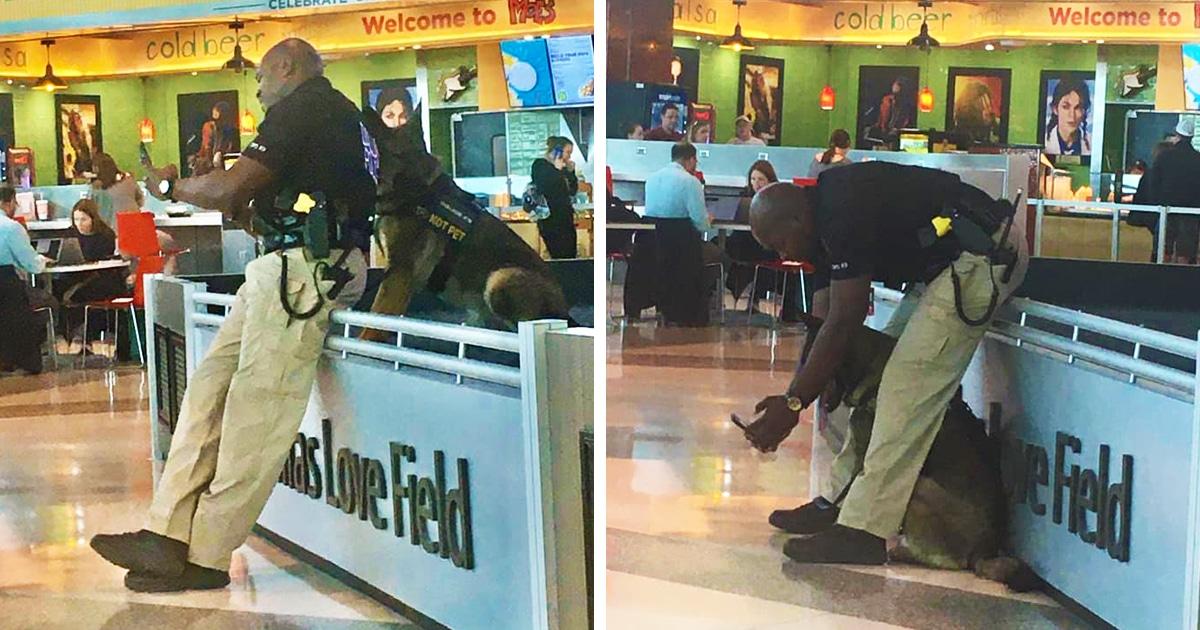 Полицейского застали за селфи с напарником во время работы, но получившиеся у них снимки того стоили