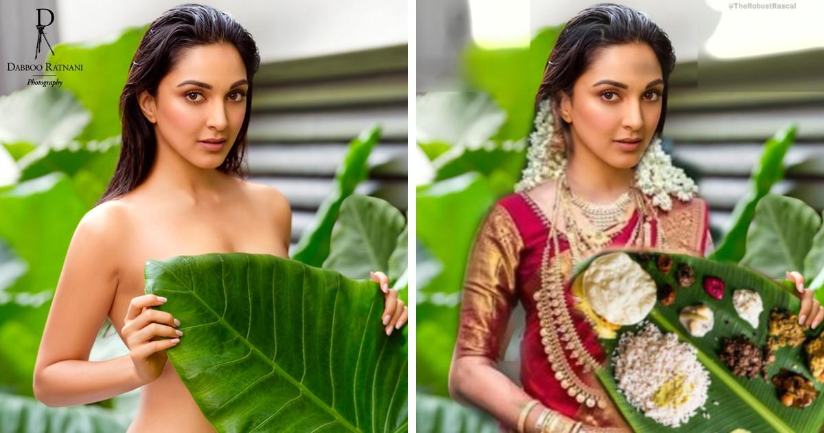 Индийская актриса снялась для календаря, но люди нашли фото слишком откровенным и решили одеть её сами