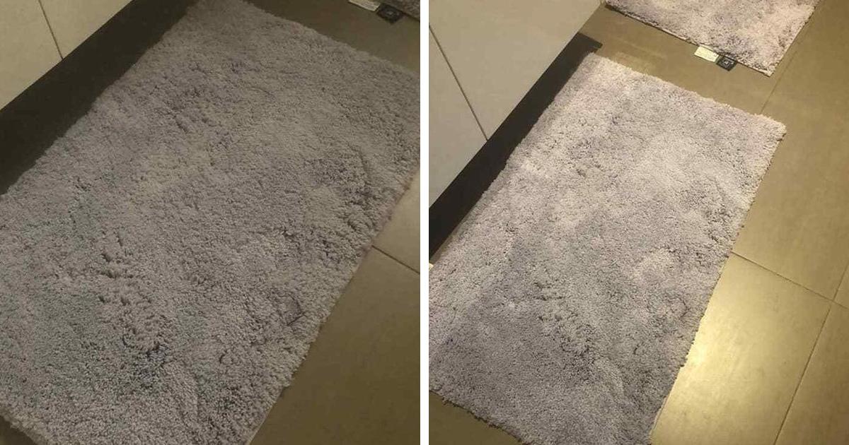 Серый или сиреневый? Австралийка купила коврик-хамелеон и пытается понять, какого он цвета