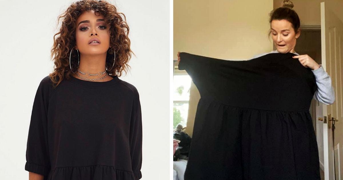 Девушка заказала платье для первого дня на новой работе, но пришёл наряд, в котором она вряд ли куда-то выйдет