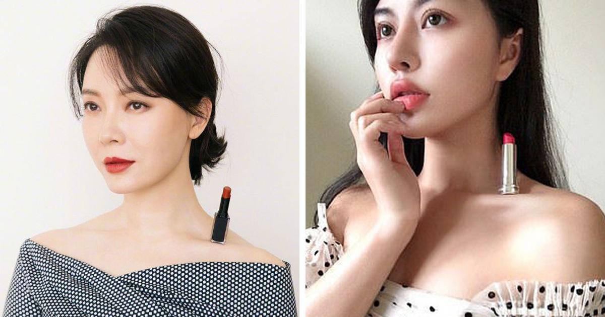 Китайская актриса показала свой навык и запустила челлендж, проверяющий худобу. Понадобится губная помада