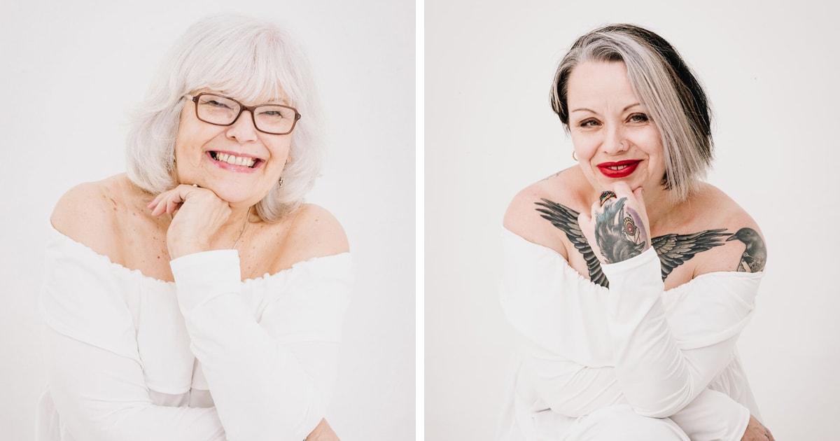 Британка делает вдохновляющие портреты женщин, которые приняли свою седину и отказались её закрашивать