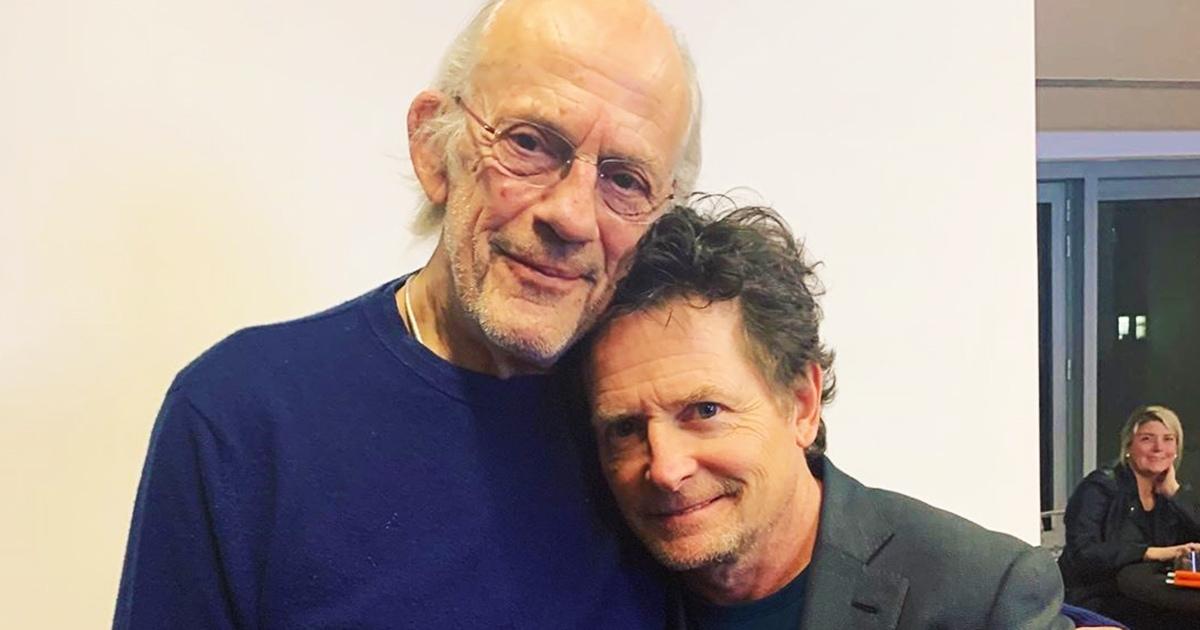Док и Марти из «Назад в будущее» встретились на турнире по покеру. Спустя 35 лет после выхода первого фильма!