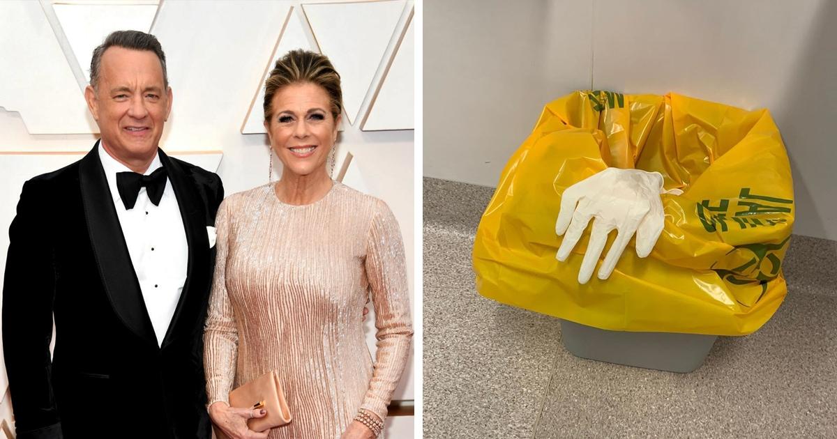 Том Хэнкс сообщил, что у них с женой коронавирус. Объявление он сделал в своём стиле — с помощью перчатки